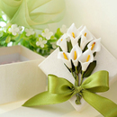 Idoo Calla Lily Wedding Favor Boxes