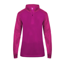 Badger 4179 - Sport Tonal Blend Ladies 1/4 Zip