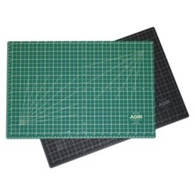 "Adir Corp. CM2436 Self Healing Cutting Mat Green/Black 24""x36"""