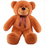"GOGO 39"" Lovely Dark Brown Bear Stuffed Plush Toy, Big Plush, Christmas Gift Idea"