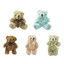 GOGO 5 Inch Stuffed Plush Teddy Bear, Pack Of 5, Valentine's Gift Idea