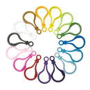 GOGO 200 Pieces Plastic Lobster Clasps, for DIY Toys and Key Rings