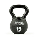 Aeromat 35879 Elite Mini Kettlebell Medicine Ball, 15 Lb, Color: Black