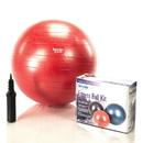 Aeromat 38111 55 cm Fitness Ball,  color: red, measurement tape, pump, instruction sheet, Fitness Ball Kit