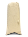 Liberty Bags 1727-88 Fredericksburg Drawstring Wine Tote - Natural Coated