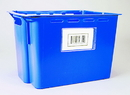 "Bin Buddy BB35 Label Holder, Tote, 3""x5"", Clear"