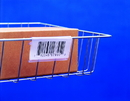 Snap Label SL1203 Label Holder, Wire basket/display, Clear 3""