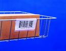 "Snap Label SL1203 Label Holder, Wire basket/display, Clear 3"""