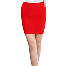 TopTie Women's Candy Colored Thread Mini Skirts, Bodycon Pencil Skirts XS