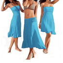 TopTie Sexy Style Multifunction Bikini Cover-Up Dress, Maxi Skirt