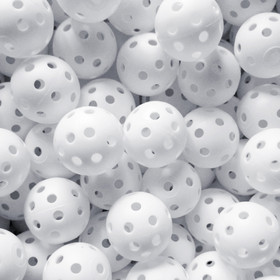 GOGO Wiffle Practice Golf Balls - 240 Pieces Wholesale Lot, White