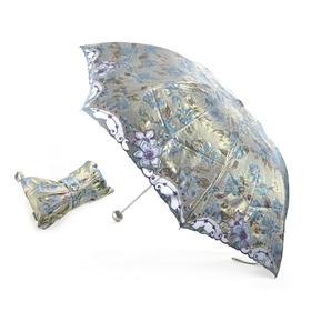 TOPTIE Anti-UV Sun Umbrella With Elegant Bag, Folding Parasol, Christmas Gift Idea