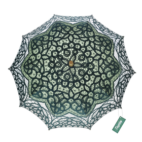 TOPTIE Classic Lace Umbrella, Wedding Battenburg Parasol