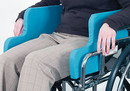 AliMed 1241- Wheelchair Side Supports - Tall - 10.5