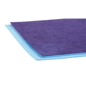 "AliMed 4196 - Poron- Blue w/Cloth Cover- 1/8""x12""x42"""