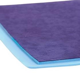 "AliMed 4196- Poron - Blue w/Cloth Cover - 1/8""x12""x42"""
