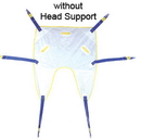 AliMed 70130- Single Patient Split Leg Sling w/out Head Support - Med - cs/10