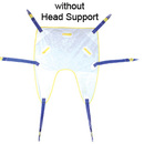 AliMed 70134- Single Patient Sling w/ Head Support - Large - cs/10