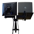 AliMed 71411 Chief Dual-Arm Mount with Monitor and Laptop