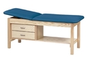 AliMed 78729- Clinton Treatment Table with Shelf and Draw