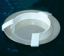 AliMed 813412- Large Plastic Plate Guard - cs/12