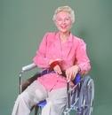AliMed 8781- SkiL-Care Easy-Release Nylon Wheelchair Belt
