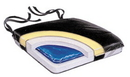 AliMed 8784- Econo-Gel Wheelchair Cushion - Vinyl w/Polyester Cover - 18