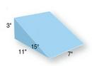 AliMed 9-673- 15 Degrees Positioning Wedge - Upholstered Blue Vinyl - 11