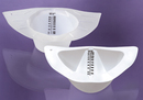 AliMed 933544- Polypropylene Urine/Stool Specimen Collector - Translucent - 900 ml - 100/cs