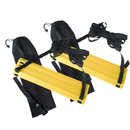 GOGO Durable Agility Ladder Training Soccer Drills 12-Rung, Pack of 2