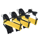 GOGO 12-Rung Speed Agility Ladders Feet Training Equipment For Soccer, Speed, Football Fitness Pack of 3