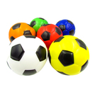 GOGO Big Football Pattern Hand Exercise Grip Ball, Large Squeeze Ball, 4