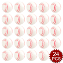 GOGO 24PCS Stress Reliever Ball, Baseball Shape Hand Exercises Toy