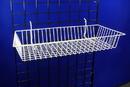 AMKO Displays BSK11/WTE Shallow Basket, 24