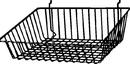 AMKO Displays BSK16/WTE Sloping Basket, 15