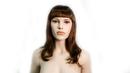 AMKO Displays CY/8194 Brown Wig, Wavy Hair