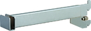 AMKO Displays GR12-SC Rectangular Hangrail Bracket, 12