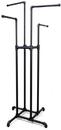 AMKO Displays PL-K4 Four Way Rack, Height Adjustable: 48