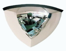 AMKO Displays SMQ24 90 Quarter Dome Mirror, 1/4 Of 24
