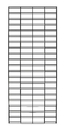 AMKO Displays STG26/C 2' X 6' Slatgrid Panels, Constructed With 1/4