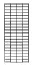 AMKO Displays STG28/B 2' X 8' Slatgrid Panels, Constructed Withh 1/4