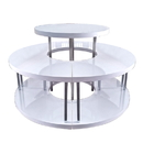 AMKO Displays TABLE/R Round Table Topper