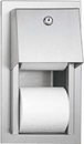 ASI 0031 Recessed Dual Roll Toilet Tissue Dispenser