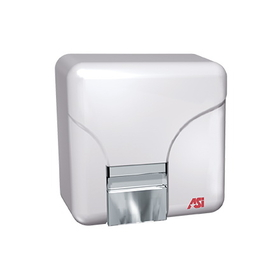 "ASI 0141 ""No Touch"" Dryer (110-120v.) - Surface Mounted - White"