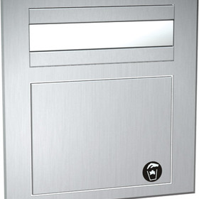 ASI 1001 Counter Top Mounted Paper Towel Dispenser/Waste Receptacle