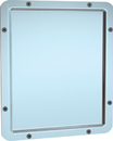 ASI 104 Framed Mirror - Front Mounting
