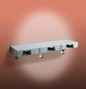 ASI 1315-3 Shelf/Utility Hook & Mop Strip w/Drying Rod (2 Hooks, 3 Holders) 30
