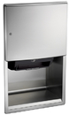 ASI 204523A Roval Recessed Automatic Roll Paper Towel Dispenser