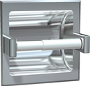 ASI 7402 Toilet Paper Holder (Single) - Recessed