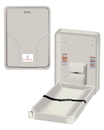 ASI 9015 Baby Changing Station - Vertical Surface Mounted - Plastic